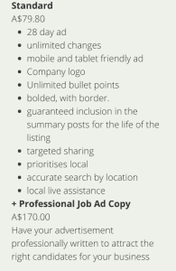 Are yopu wanting to advertise a job vacancy?
